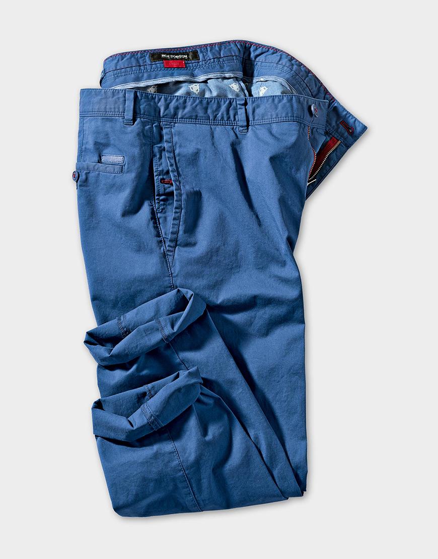 Pantaloni Roy Robson Open Spirit Look - Chinos Blue 429 Lei