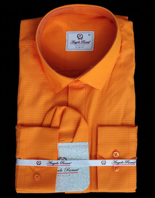 Camasa Angelo Roma Orange 200 Lei