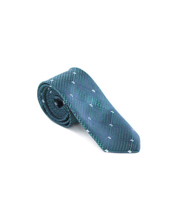 Cravata Barbati Verde Microfibra Eleganta Casual Slim 80 Lei