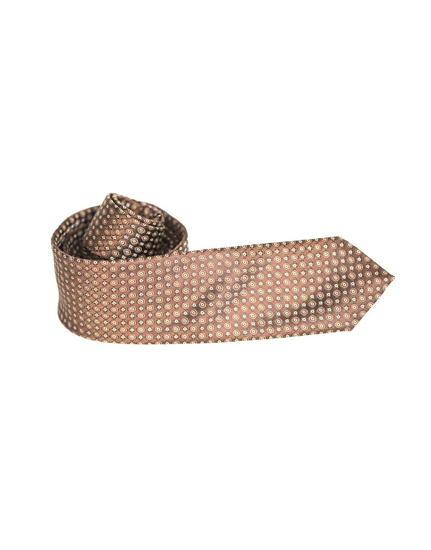 Cravata Barbati Roz Pal Cu Buline Microfibra Eleganta Casual Slim 80 Lei