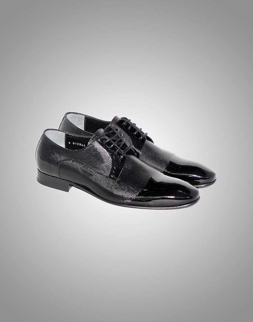 Pantofi Barbatesti Negru Lac Ocazie 650 Lei