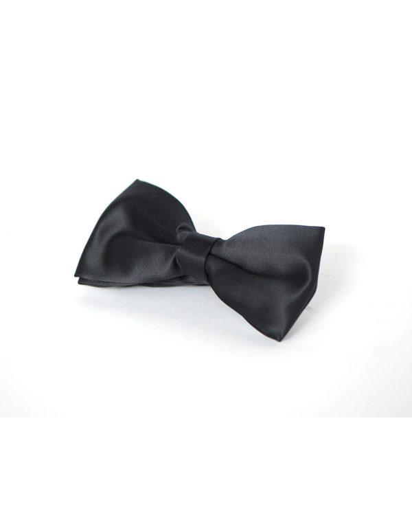 Papion Barbati Negru Microfibra Elegant Ceremonie 80 Lei