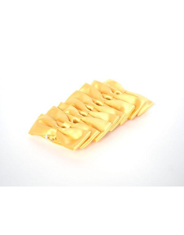 Papion Barbati Galben Microfibra Elegant 80 Lei