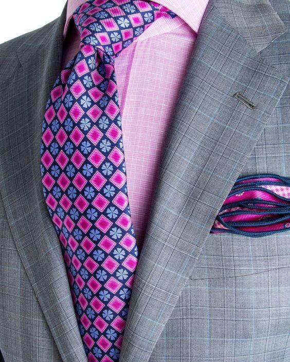 cravata colorata